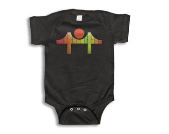 Baby One Piece - San Francisco Onesie - 100% cotton Short Sleeve & Long Sleeve - Newborn to 18 Months - Baby Boy - Baby Girl