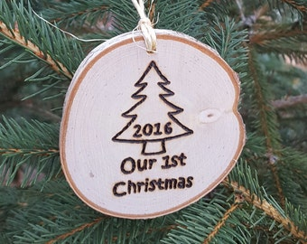 2017 Our First Christmas Ornament