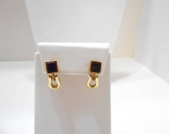 Vintage Dangle Pierced Earrings (2568) Napier