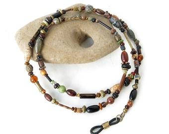 Glasses chain beaded eyeglass lanyard sunglasses necklace holder