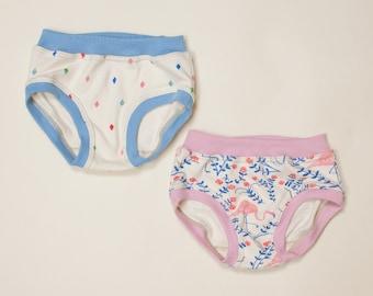 girls organic panties, organic underwear, panties, undies, organic underwear, handmade underwear, toddler panties, underwear, briefs, girls