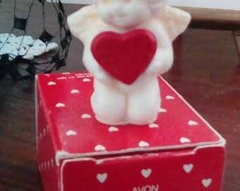 Vintage Avon Cupid mini pomander