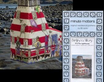 3D BrightSea Village 12 The Lighthouse Cross Stitch Pattern