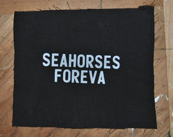 Seahorses Foreva Patch