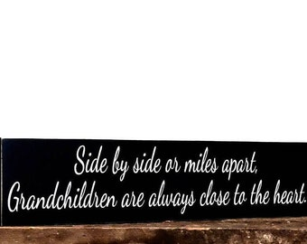 Grandparent sign - love sign - anniversary gift - birthday gift - quote on wood - Mothers day sign - rustic decor sign - handmade sign