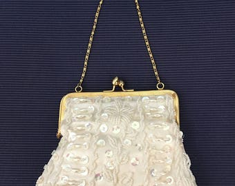 Petite Beaded & Sequined Evening Bag