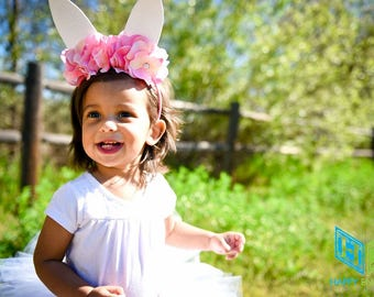 Easter Bunny, Easter Tutu, Easter Outfit, Bunny Ears, Rabbit Ears, Bunny Costume, Bunny Clothing, Rabbit Clothes, White Rabbit Tulle Tutu
