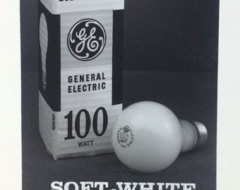 Original Francis Parrish Photo GE Light Bulbs Commercial Artist 1965