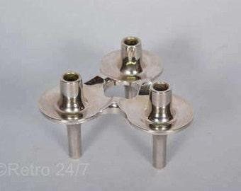 """1 vintage stackable candle holder by nagel   - model """"Orion"""""""