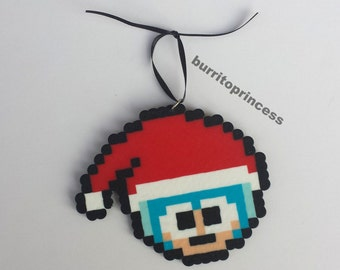 Megaman Christmas Ornament