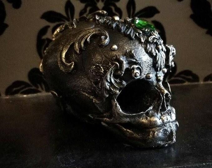 Ornate Filigree Skull Home Decor