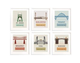 Portland Bridge Set (12)
