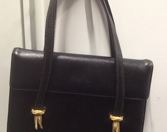 Darling Vintage Little Black Handbag