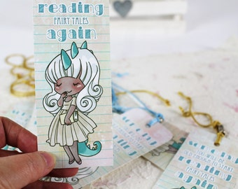 Someday... - paper bookmark