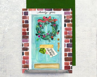 Happy Holiday Front Door: Box Set of 6 cards