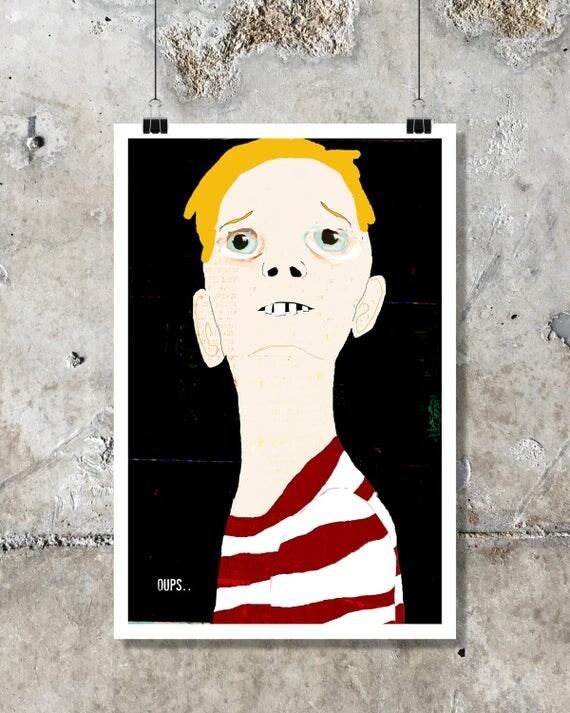 Fine art, poster, illustration, digital printing, contemporary art, urban