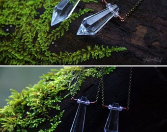 Ice Princess - Small Crystal Necklace