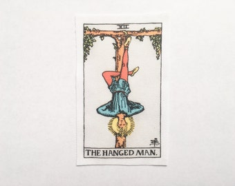 The Hanged Man - El Ahorcado - Le Pendu - Rider-Waite Tarot Card Sew On Patch