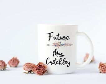 Future Mrs Mug/Personalised/Engagement/Proposal Gift/Bride to Be/Wedding Planning