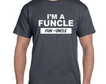 Uncle Gift Uncle Shirt New Uncle Fun Gifts Funny t shirts Uncle To Be Best Uncle Ever Brother in law Gift Brother In Law Uncle Tshirt Gifts