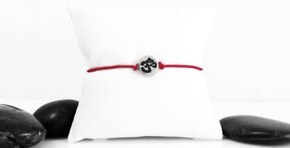 Yoga Bracelet, Yoga Jewelry, OM Charm, Meditation Bracelet, Om Jewelry, OM, Spiritual Jewelry, Ohm Bracelet, Mens Bracelet, OM, b247cA