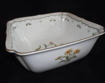Georges Briard Victorian Gardens Square Vegetable Bowl