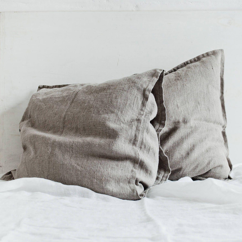 Natural Linen Pillowcase Decorative Linen Pillow Covers