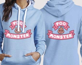 Poo monster hoodie or t-shirt