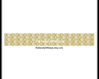 Peyote Patterns - Peyote Pattern - Beading Patterns - Beading Pattern - Bead Pattern - Beading Tutorial - Peyote Tutorial - MODERN PIANO