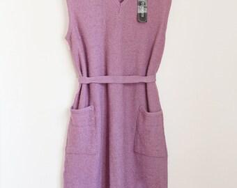 "Vtg 90s lilla sleeveless dress ""Tomomi"" size M"