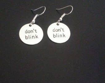 Don't Blink Earrings