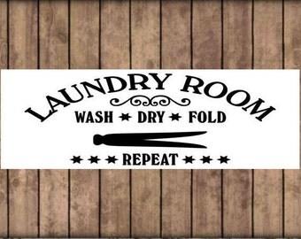 Laundry room sign, sayings on wood, painted wood sign, laundry humor, wash room decor, custom wood sign, wall hangings, laundry room decor.