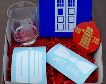 GIFT BOX: Doctor Who Inspired Gift Box, Christmas Gift Box