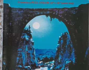 Tolkien Middle-Earth Campaign and Adventure Guidebook w/map 2nd Edition I.C.E. MERP Role Playing Module 1983