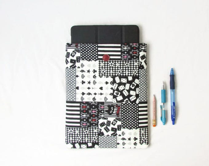 CLEARANCE 10 inch tablet sleeve, handmade in the UK
