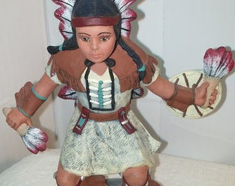 Dancing Indian Boy