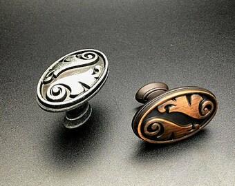 Shabby Chic Door Knobs Drawer Knobs Dresser Knobs Wardrobe Knobs Rustic Kitchen  Cabinet Knobs Decorative Furniture Hardware 6025