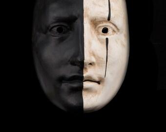 Venetian Mask | Black & White Face