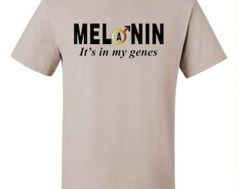 Melanin Male - It's in my Genes Short Sleeve T-shirt