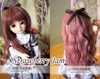 bjd doll girl wig Y-20 (5 colors) for YOSD 1/6BB