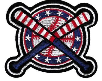 Cool American Baseball Sports Patch 10cm