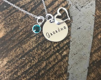 Grandma Gift Mom Necklace Gift Nana Necklace Mom Jewelry Mothers Day Gift Gift for Mom