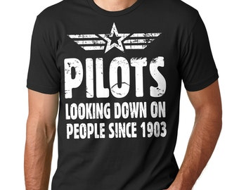 Aviator Funny T-Shirt Pilot Funny Profession Tee Shirt