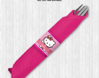 Hello Kitty Napkin Ring