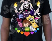 Hotlands Tee - Inspired by Undertale
