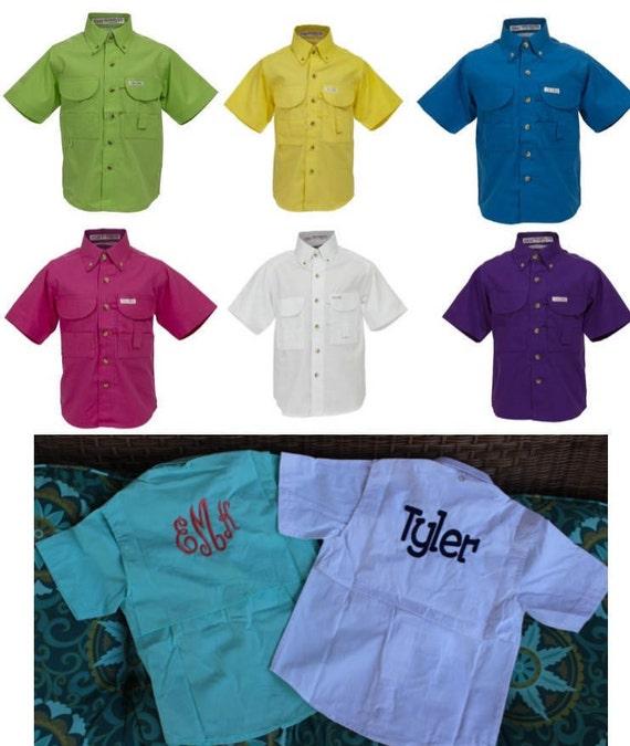 Toddler fishing shirt monogrammed sizes 12 months 2 3 for Baby fishing shirts