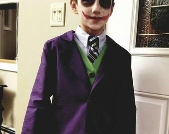 Joker Dark Knight Inspired Costume