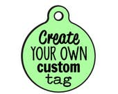Create Your Own Custom Bad Tag | Personalized Pet ID Dog Tag or Charm
