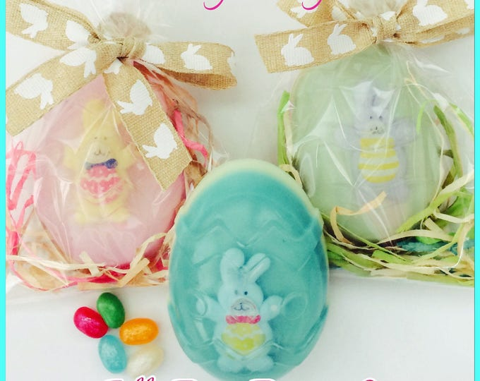 Easter Bunny Jelly Bean Scented Toy Inside Soap