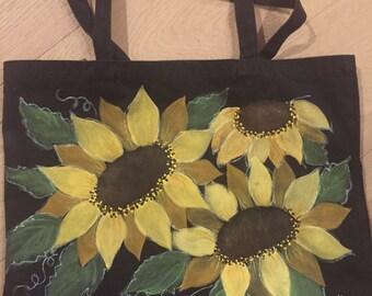 Le Fleur de Soleil canvas tote bag